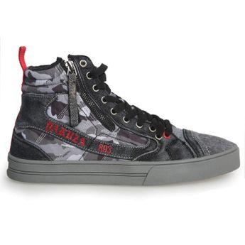 Yakuza Herren Sneaker Hi Essential SNB 11501 camouflage grey grau