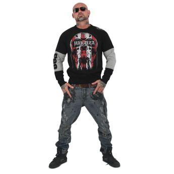 Yakuza Herren Pullover Sweatshirt Imperator PB 13017 schwarz online kaufen