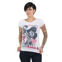Yakuza Damen T-Shirt Join Us V-Neck GSB 13130 weiß 001