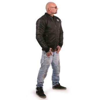 Yakuza Herren Bomberjacke Rookie JB 13021 schwarz online kaufen