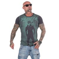 Yakuza Herren T-Shirt Lock Up TSB 13026 ebony blau 001