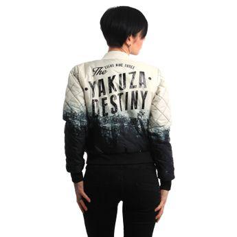 Yakuza Damen Steppjacke Gradient GJB 13120 bone white natur online kaufen