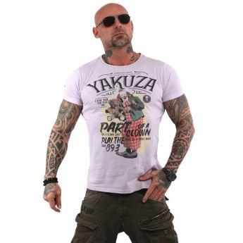 Yakuza Herren T-Shirt Clown TSB 13028 orchid hush moon lila