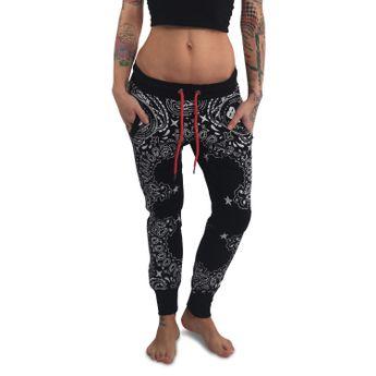 Yakuza Damen Jogginghose Tijuana Skinny  GJOB 13149 schwarz