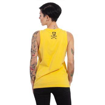 Yakuza Damen Shirt Tank Top Dead Angel GSB 13138 dandelion gelb online kaufen