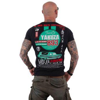 Yakuza Herren T-Shirt Mate Lentamente TSB 13033 schwarz online kaufen