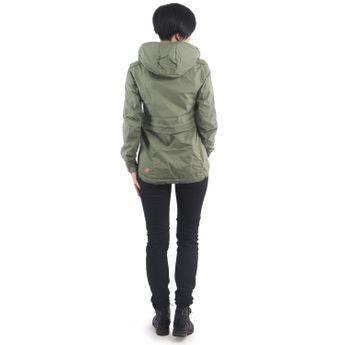 ragwear Damen Übergangs Jacke Kapuzenjacke Danka olive grün online kaufen