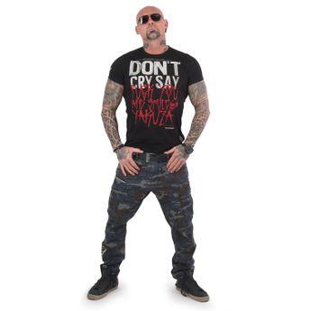 Yakuza Herren T-Shirt Smile TSB 13038 schwarz online kaufen