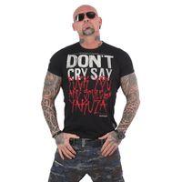 Yakuza Herren T-Shirt Smile TSB 13038 schwarz 001