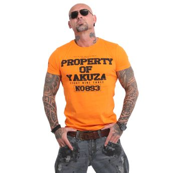 Yakuza Herren T-Shirt Property TSB 14069 orange popsicle