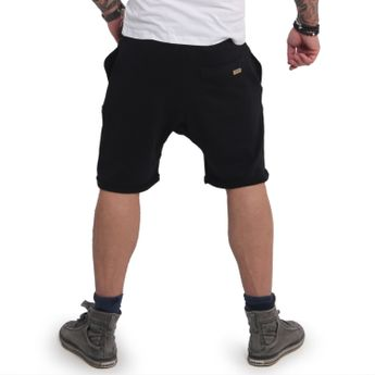Yakuza Herren Jogger Sweat Shorts Fxxk Religion SSB 14032 schwarz online kaufen