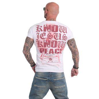 Yakuza Herren T-Shirt Know TSB 14051 weiß