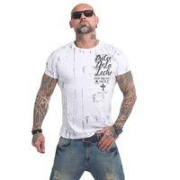 Yakuza Herren T-Shirt Puta De La Leche TSB 14050 weiß 001
