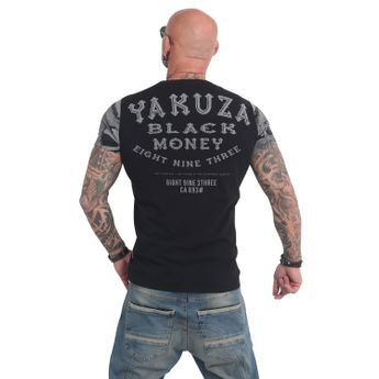 Yakuza Herren T-Shirt Black Money TSB 14048 schwarz online kaufen