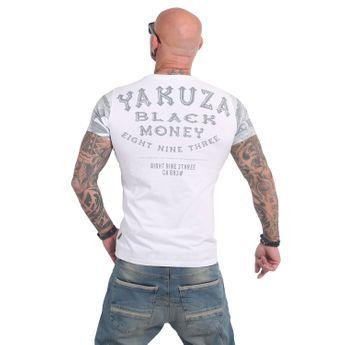 Yakuza Herren T-Shirt Black Money TSB 14048 weiß online kaufen