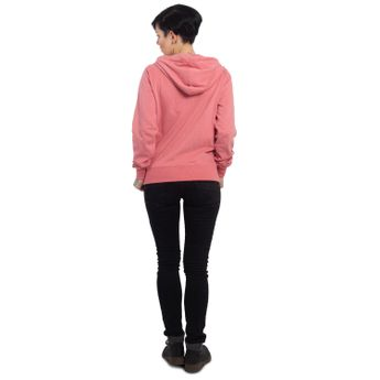Yakuza Damen Kapuzenjacke Basic Line Script Zipper GHZB 14139 rose of sharon pink online kaufen