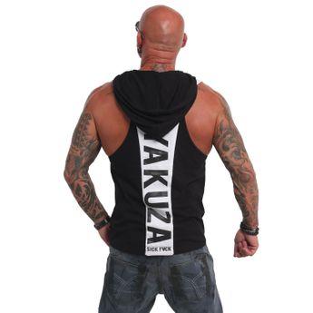 Yakuza Herren Muscle Shirt Combat S&F Sport Tank UHB 14508 schwarz online kaufen