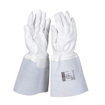OX-ON Schweißerhandschuh TIG 195 Worker Supreme 2602, Arbeitshandschuh aus Ziegenleder ungefüttert mit Kevlar-Faden – Bild 1