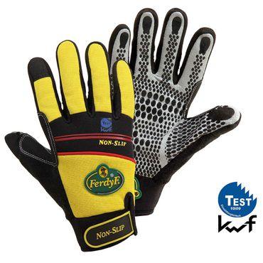FerdyF. ® Non-Slip 1930 Mechanics-Handschuh    Arbeitshandschuh         Clarino®-Kunstleder Montagehandschuh