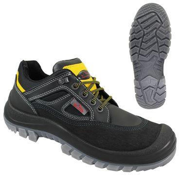 NEPAL Black Sicherheitsschuhe schwarz/gelb -REMISBERG- S3 Schuhe Arbeitsschutzschuhe