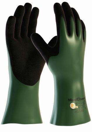 MaxiChem Cut 56-633, Chemikalienschutz-Handschuh mit Schnittschutzklasse 3