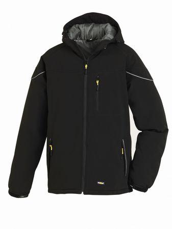 Winter-Softshell-Jacke VAIL, Arbeitsjacke mit Nierengurt
