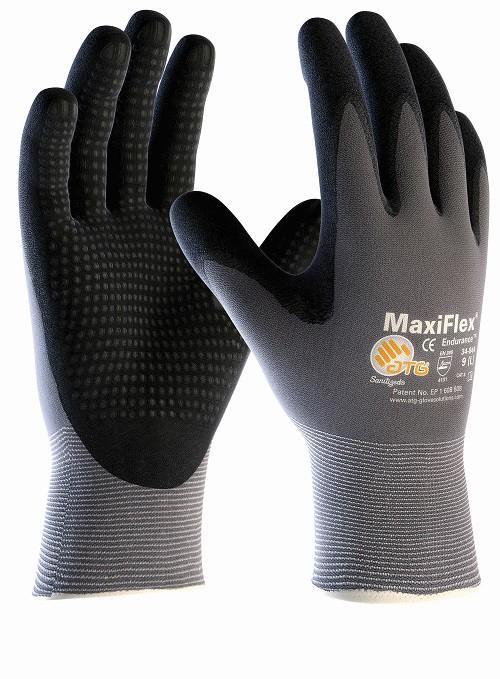 detaillierter Blick ausgereifte Technologien Preis vergleichen MaxiFlex Endurance 34-844 Arbeitshandschuhe Noppen