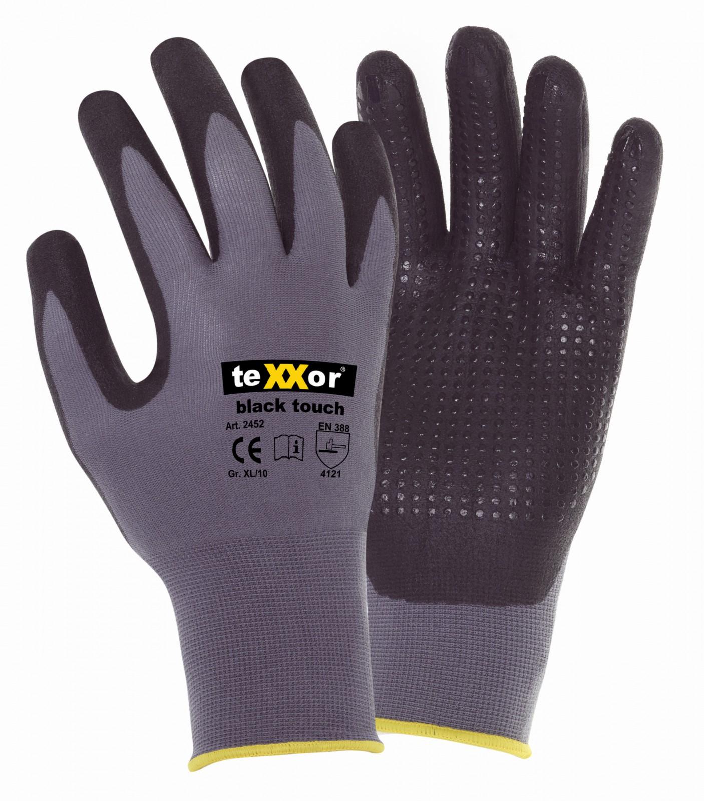 MaxiFlex TeXXor OXON Montagehandschuhe Mechanikerhandschuh Nitril Handschuhe