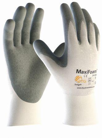 MaxiFoam 34-800 Arbeitshandschuh Nitrilschaumbeschichtung weiss