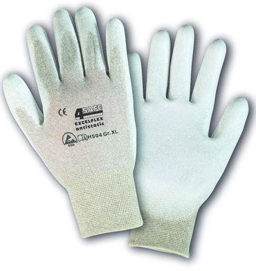 4Safe Kromwell Excelflex Antistatic H504 ESD Arbeitshandschuh aus Nylon und Kupfer