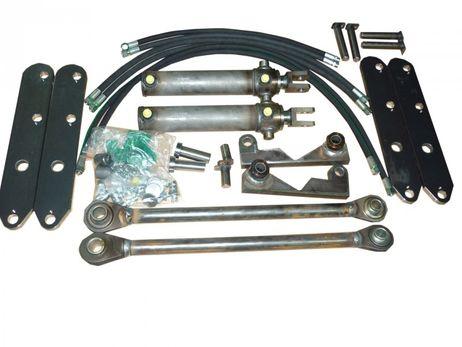 Hydraulische Gerätebetätigung mit 2 Zylinder robuste Bauweise