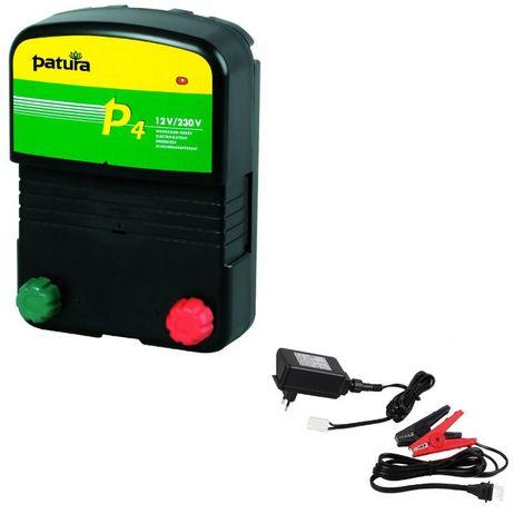 P4 Weidezaun-KombiGerät für 230V und 12V Patura Stromzaun Elektrozaun