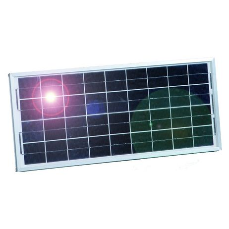 Solarmodul 15 Watt, mit Universalhalter