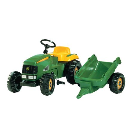 012190 Rolly Toys John Deere  mit Kid Trailer