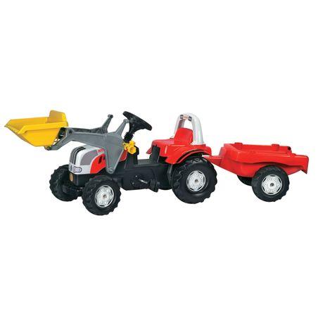 023936 Rolly Toys Steyr CVT 6165  mit Kid Lader und Kid Trailer