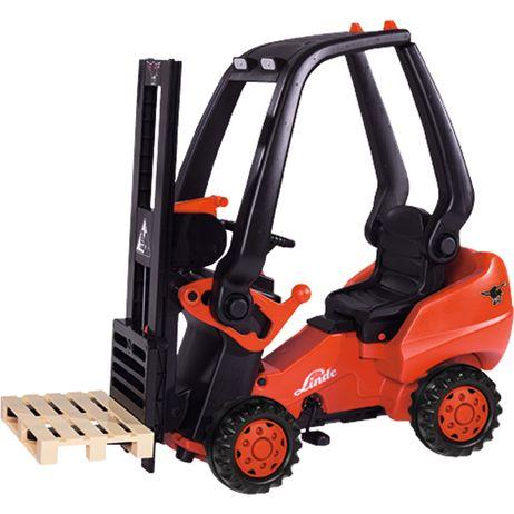 56580 BIG Linde Forklift Gabelstapler Tretfahrzeug ab 3 Jahren