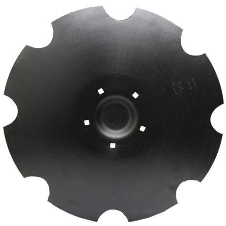 Tellerscheibe gezahnt,  5-Loch 3490467 passend für Lemken Rubin 9 Gezahnte Scheibe mit flachem Ansatz  – Bild 1