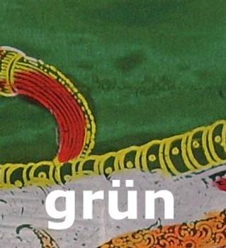 Drachenfahne NAGA, 5 Meter, handbedruckte balinesische Flagge – Bild 6
