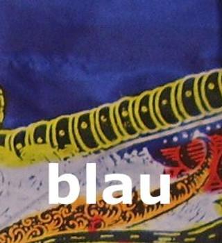 Drachenfahnen LITTLE DRAGON 100cm mit Herz-Spitze, inklusive Holzstab, Balifahne, Bali Flag – Bild 4