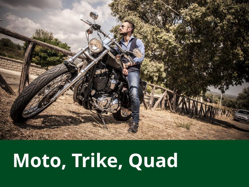 Moto, VTT