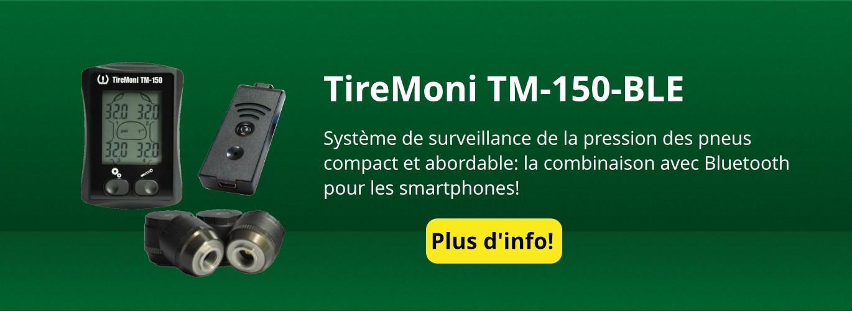 [Pack] Système de surveillance de pression TireMoni TM-150 Bluetooth LE