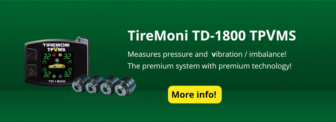 TD-1800-X Tyre Pressure and Vibration Monitoring System, external Sensors