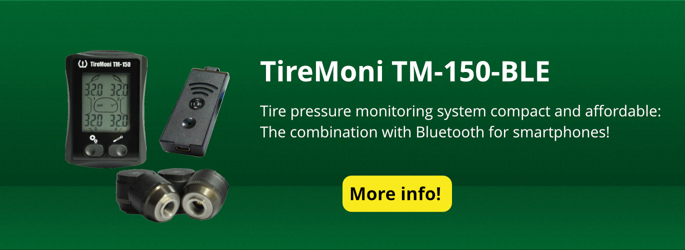 [Bundle] Tyre Pressure Monitoring System TireMoni TM-150 Bluetooth Smart