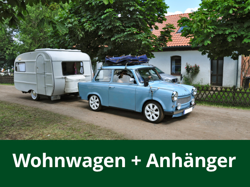 Wohnwagen + Anhänger