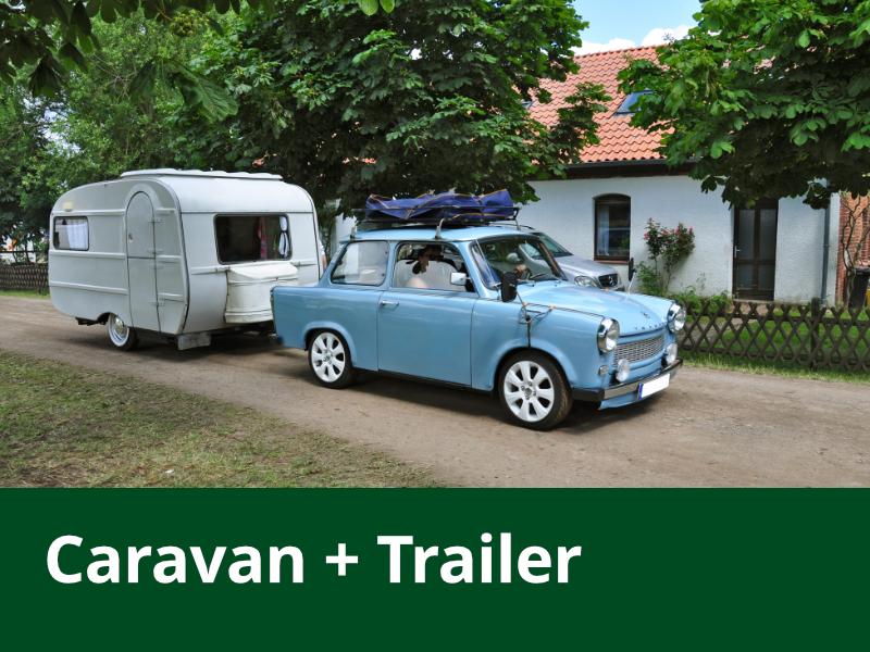 Caravan + Trailer