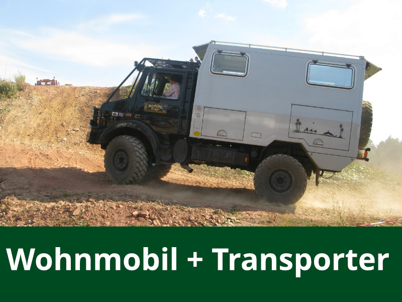 Wohmobile + Transporter