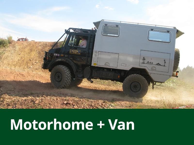 Motorhomes + Vans