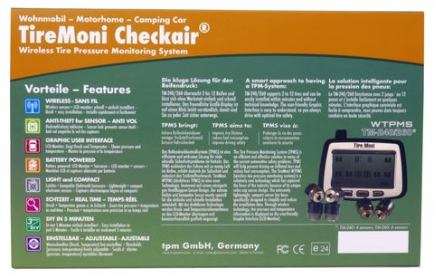 TireMoni tpms TM-260 Tyre Pressure Monitoring System – image 7