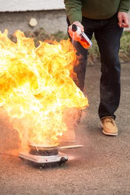 Premium-Seal Firekiller 500 ml, fire extinguisher for home and vehicle – Bild 5