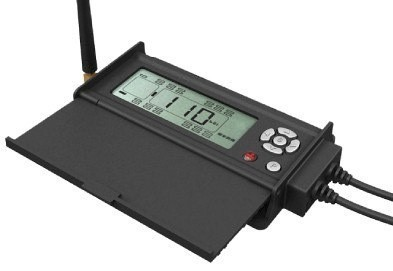 Tyre Pressure Monitoring System receiver/display for construction machinery and OTR 10.06.011